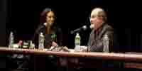 Audio Slideshow of Salman Rushdie and Tishani Doshi At The Brooklyn Book Festival