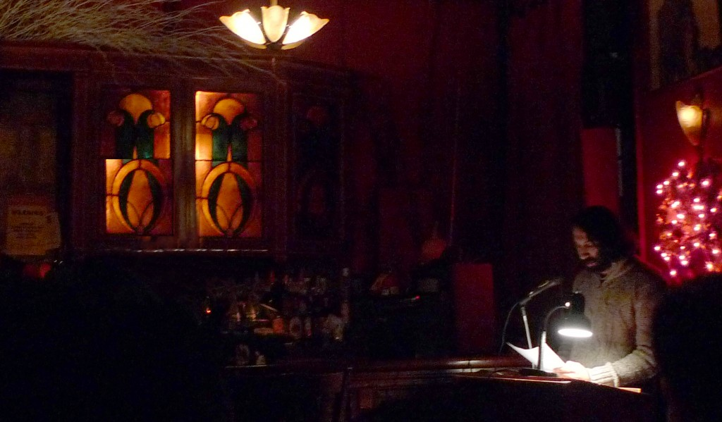 "Navdeep Singh Dhillon Reads ""Men With Beards"" at KGB Bar in NYC (CUNY Writers Institute)"