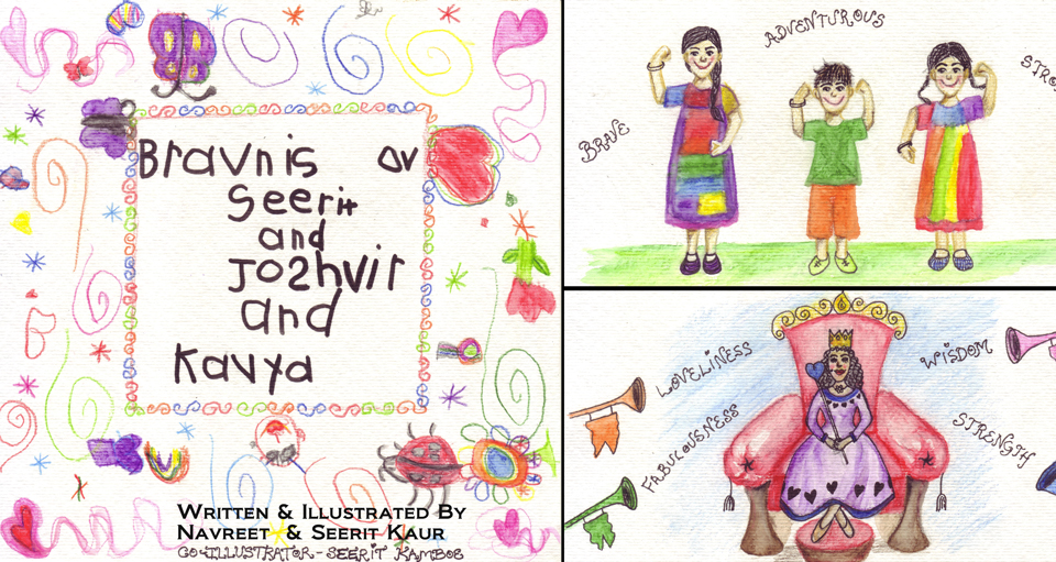 Bravn: a Picture Book by Navreet and Kavya