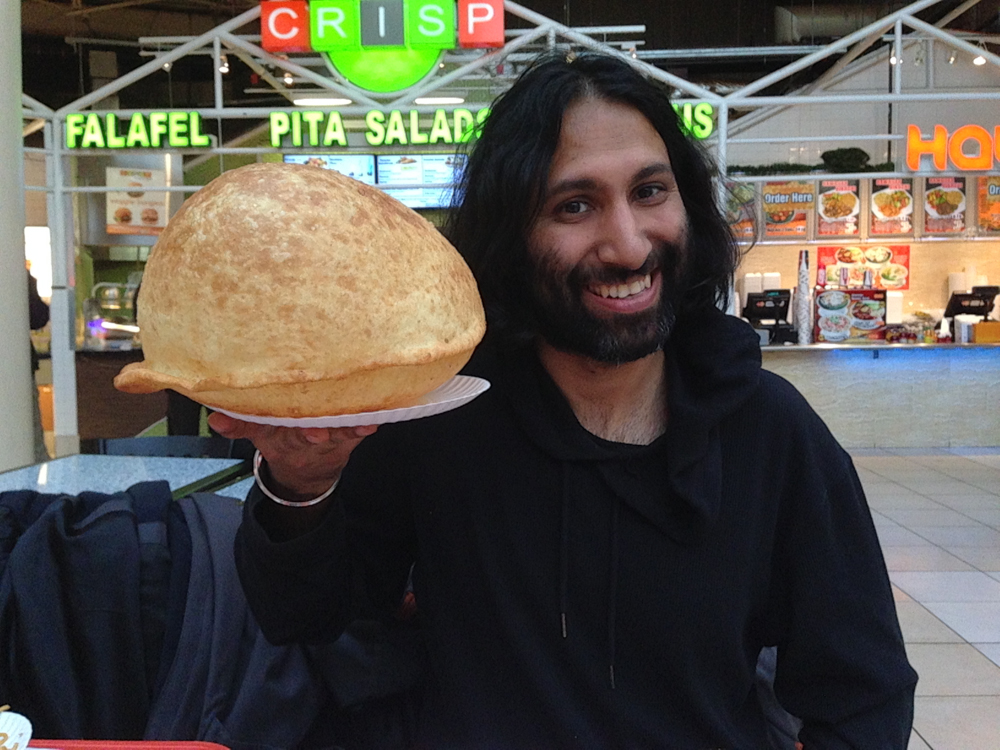 Now That's What You Call a Bhatura!