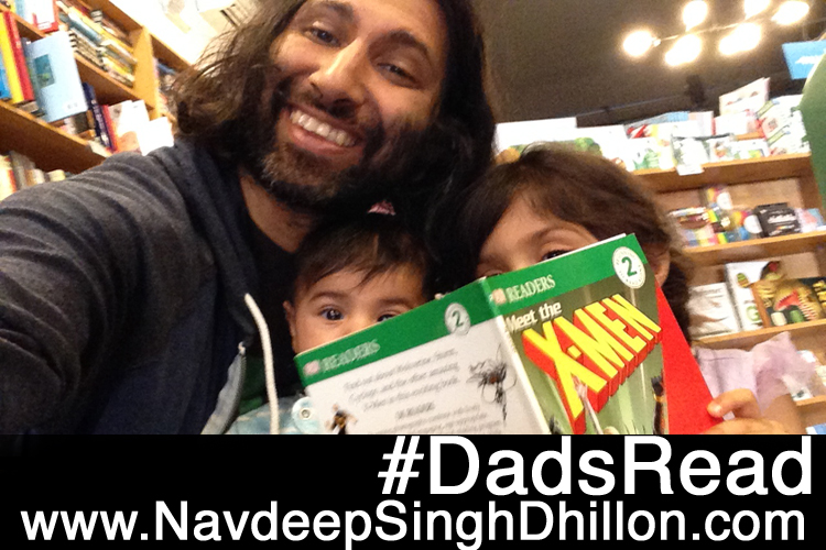 Support #DadsRead and #WeNeedDiverseBooks Because Reading to Your Kids is Fun!