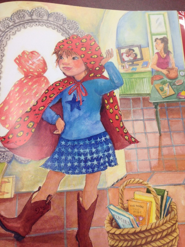 Bilingual Picture Book Review: Little Roja Riding Hood by Susan Middleton Elya, Illustrated by Susan Guevara